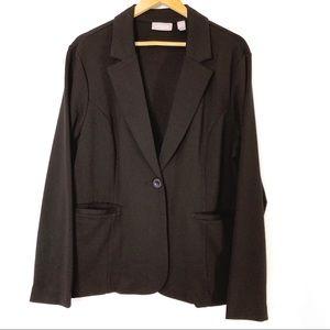 Chico's Woman's Black Blazer Size 3 / XL